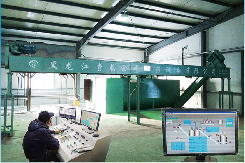 Intelligent bacterial package production line