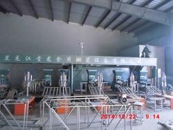 Installation site in Qingan, Heilongjiang
