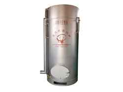 Atmospheric sterilizing boiler